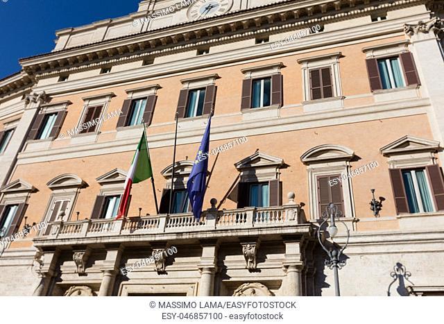Palazzo del Viminale in Rome, headquarter of Governmen of Italy