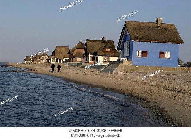 summer residences in Heiligenhafen, Germany, Graswarder