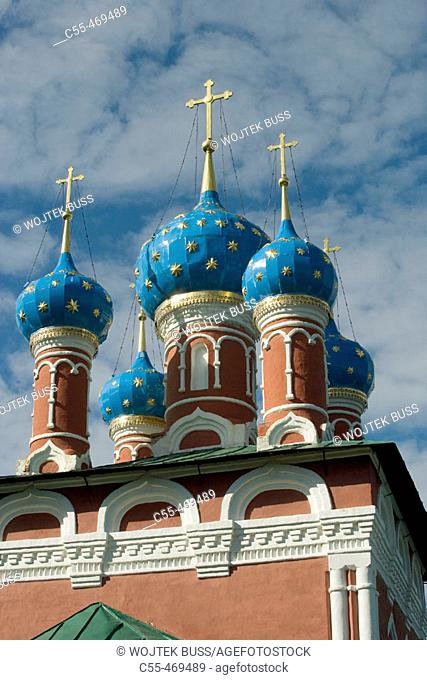 Church of St. Demetrius on Blood in the Kremlin, Uglich. Golden Ring, Russia