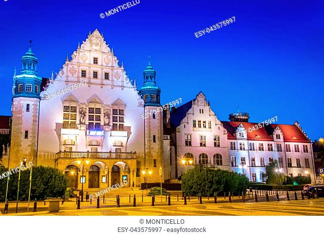 Collegium Minus of Adam Mickiewicz University in Poznan, Poland