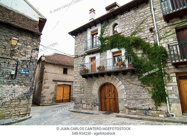 Town of Siresa. Huesca. Aragon. Spain