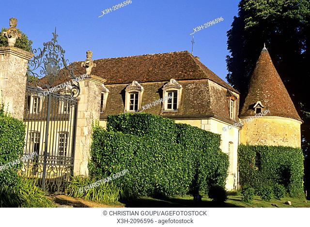 Castle of Maison-Maugis, Regional Natural Park of Perche, Orne department, Lower Normandy region, France, Western Europe