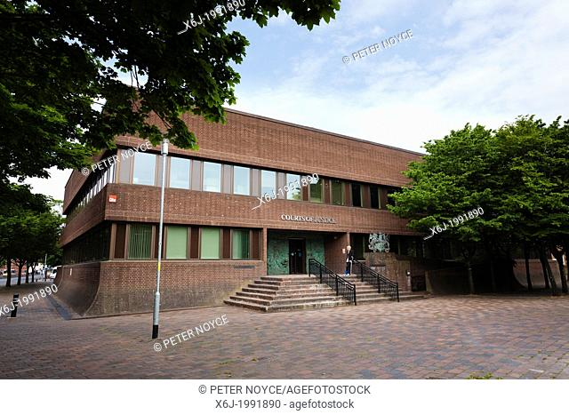 Exterior of Pourtsmouth Crown Court