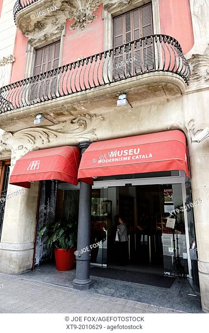 museu modernisme catala Barcelona Catalonia Spain