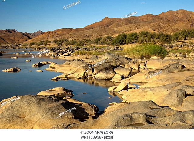 At the Orange River, Richtersveld, South Africa