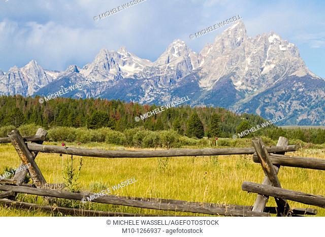 Grand Teton scene