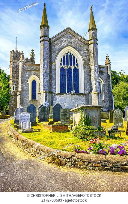 St. Mary's parish Church at Appledore Devon England