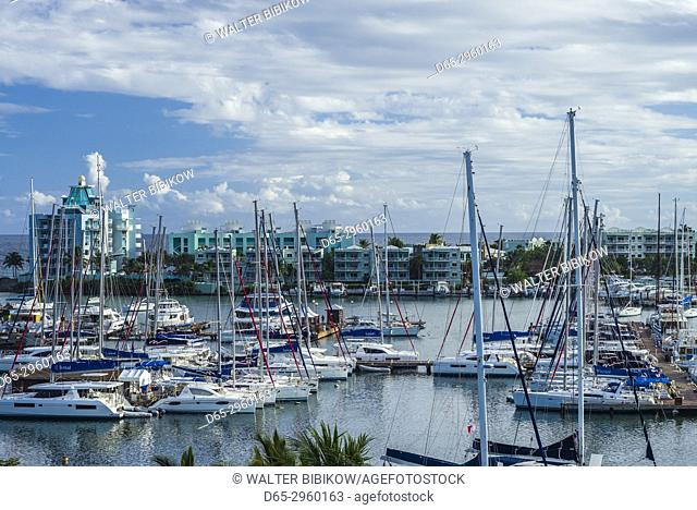 Netherlands, Sint Maarten, Dawn Beach, Oyster Bay Beach Resort