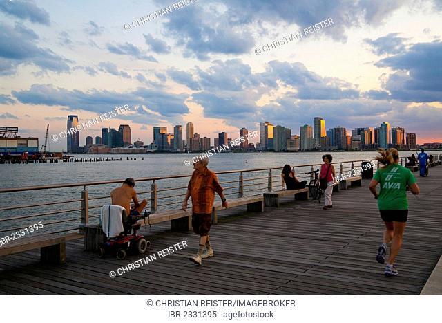 Pier 45, Hudson River Park, Greenwich Village, Lower West Side, Manhattan, New York City, USA