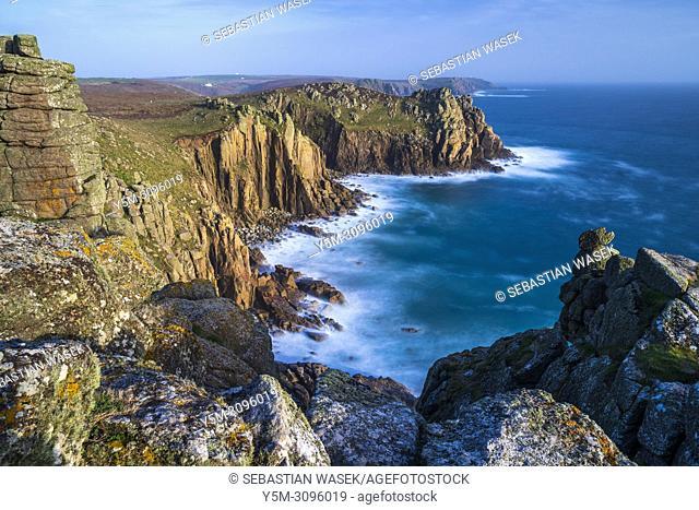 Land's End, Sennen, Cornwall, England, United Kingdom, Europe