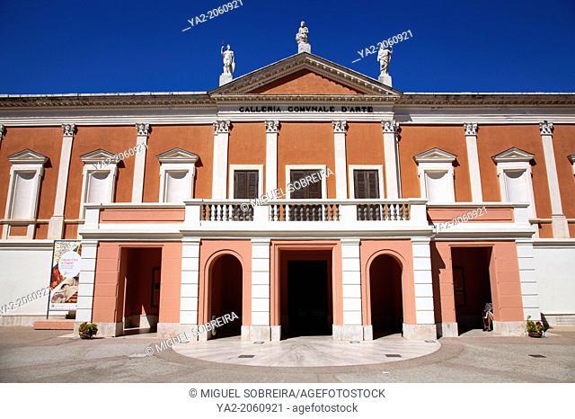 Galleria Comunale D'arte, Cagliari Art Gallery in Public Gardens - Sardinia