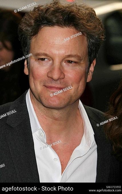 Colin Firth, 2009, Photo By John Barrett/PHOTOlink