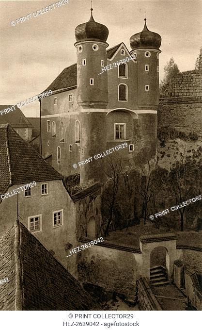 'Schloss Parsberg', 1931. Artist: Kurt Hielscher