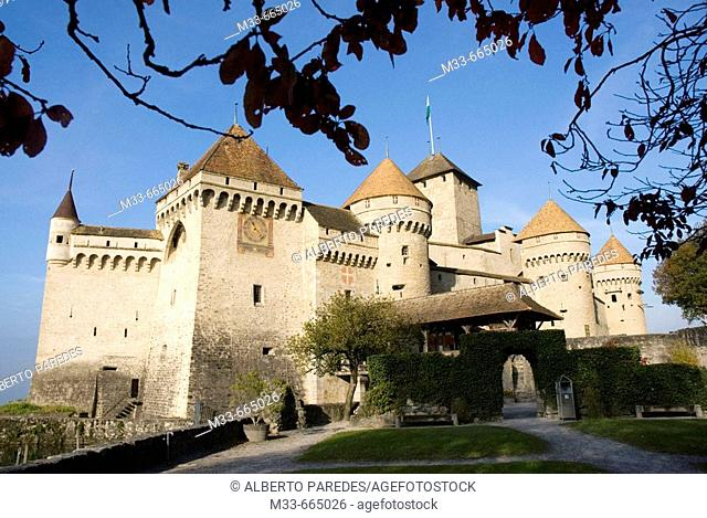 Chillon Castle in Montreux. Switzerland.