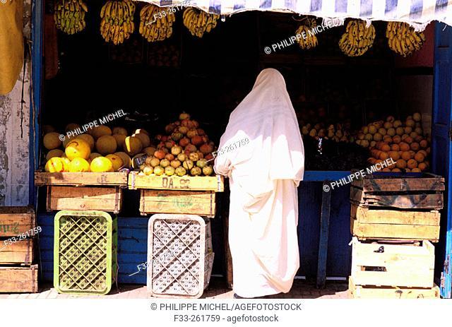 Souk. The Medina. Essaouira. Morocco