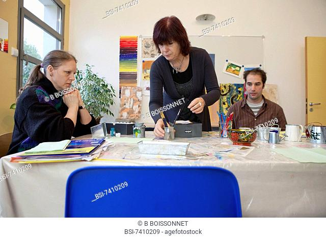 Photo essay at Health Psychology Center / Center of part-time therapeutic in Saint-Soupplets, France. The Health Psychology Center of Saint-Soupplets is one of...