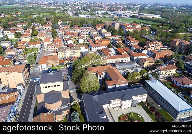 Milan suburb, Cesano Maderno, Milan, Italy