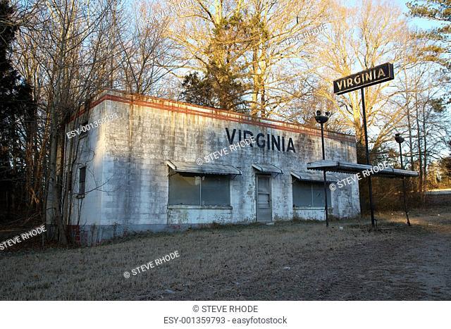 Virginia Abandoned Gas Station