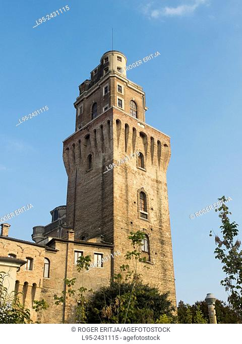 Tower containing the astronomical observatory of Galileo Galilei, Padova, Italy