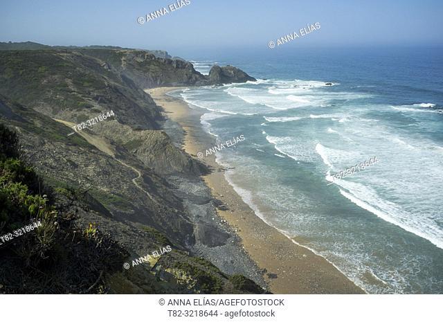 beach, alentejo, portugal