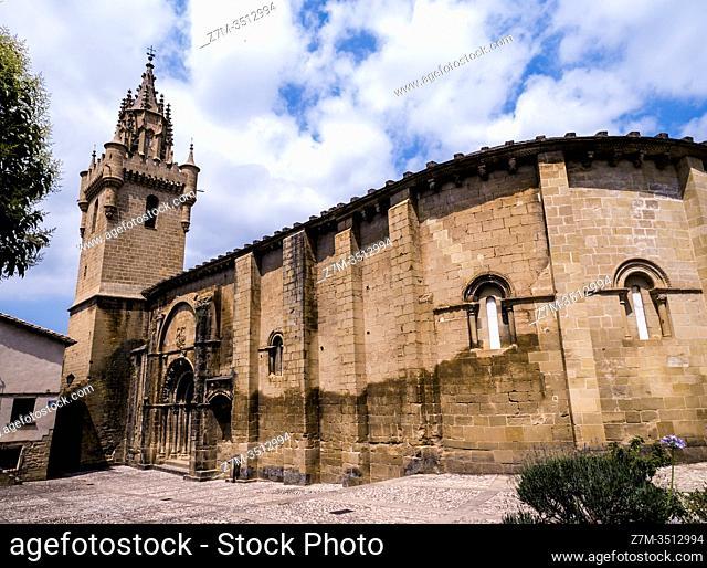 Iglesia de Santa María la Mayor. Uncastillo. Navarra. España