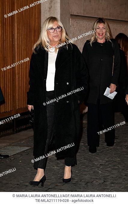 Rita Dalla Chiesa with daughter Giulia Cirese during the charity show ' Una serata di stelle' for the Hospital Bambino Gesu', Paul VI Hall, Vatican City