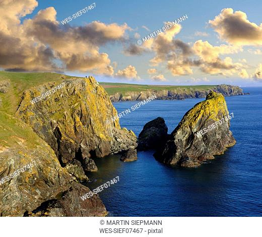 UK, England, Cornwall, The Lizard, Kynance Cove
