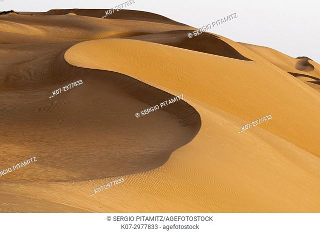 Wahiba Sands desert, Oman