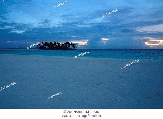 Insel im Rashdoo Atoll neben Veligandu Island