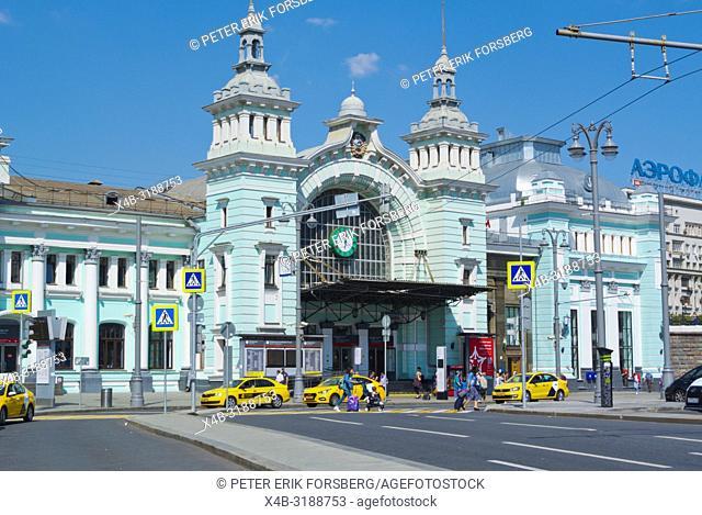 Belorussky Station, Tverskaya Zastava, Moscow, Russia