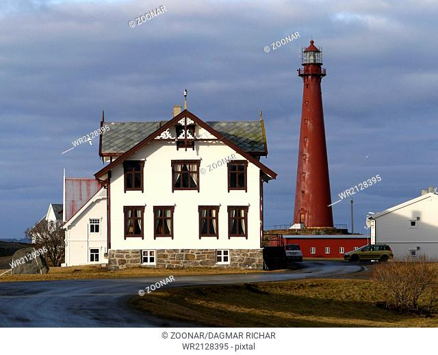 lighthouse in Andenes, Norway