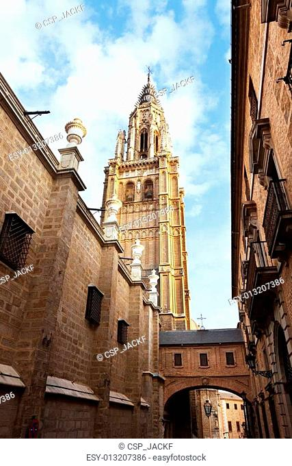 Bell tower of Toledo Cathedral