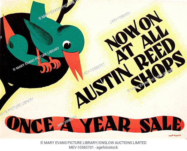Poster Austin Reed Stock Photos And Images Agefotostock