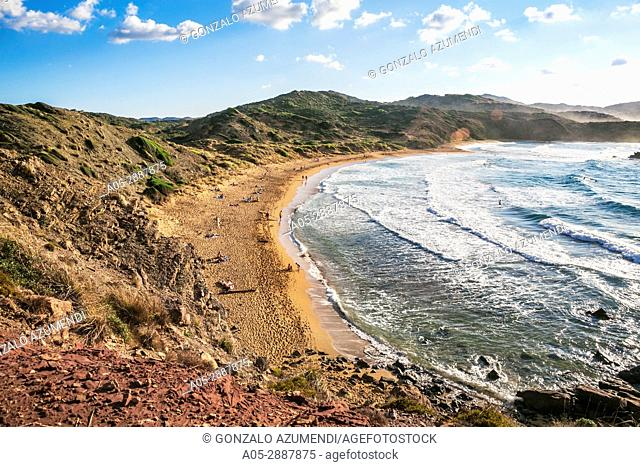 Cavalleria Beaches. Es Mercadal Municipality. Minorca Island. Balearic Islands. Spain