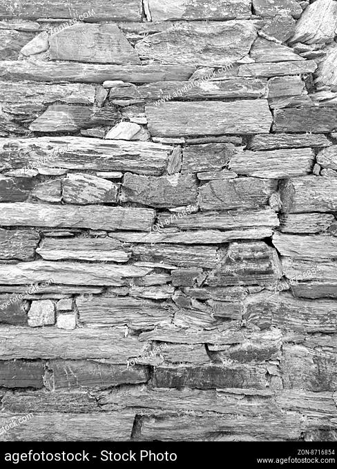 grayscale stone wall texture background