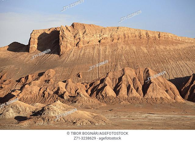 Chile, Antofagasta Region, Atacama Desert, Valle de la Luna;