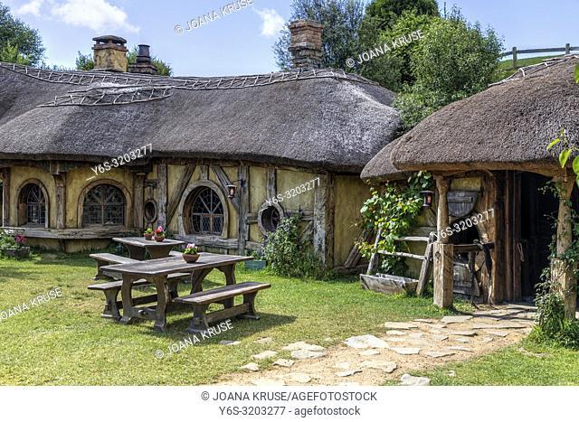 Hobbiton, Movie Set, Waikato, Matamata, New Zealand