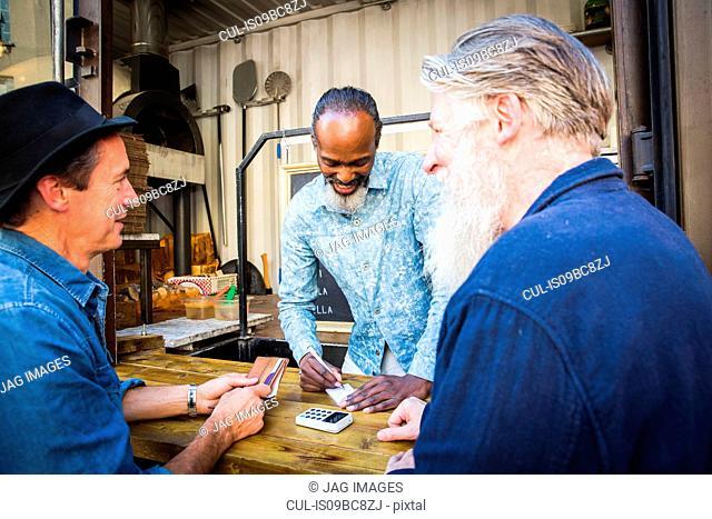 Customer paying vendor
