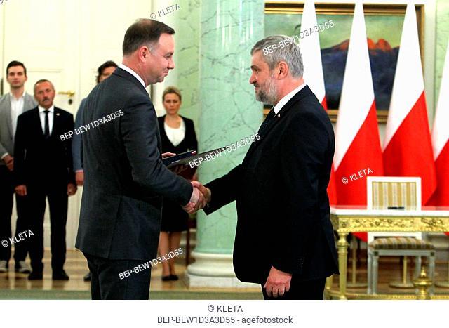 Jan Krzysztof Ardanowski - polish politician, Minister of Agriculture and Rural Development