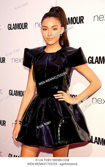 The Glamour Women of the Year Awards 2017 - Arrivals Featuring: Madison Beer Where: London, United Kingdom When: 06 Jun 2017 Credit: Lia Toby/WENN.com