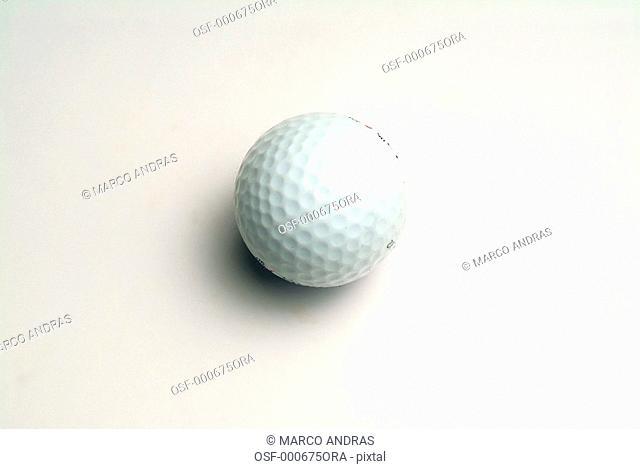one white golf ball
