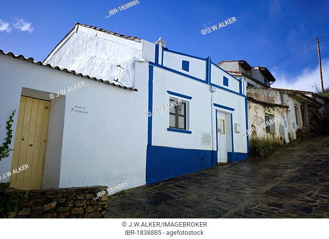 Typical old country village, renovated and converted to hotels, Pedralva, Lagos, Algarve, Portugal, Europe