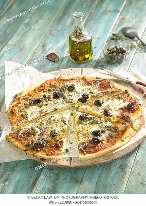 pizza siciliana / Sicilian pizza