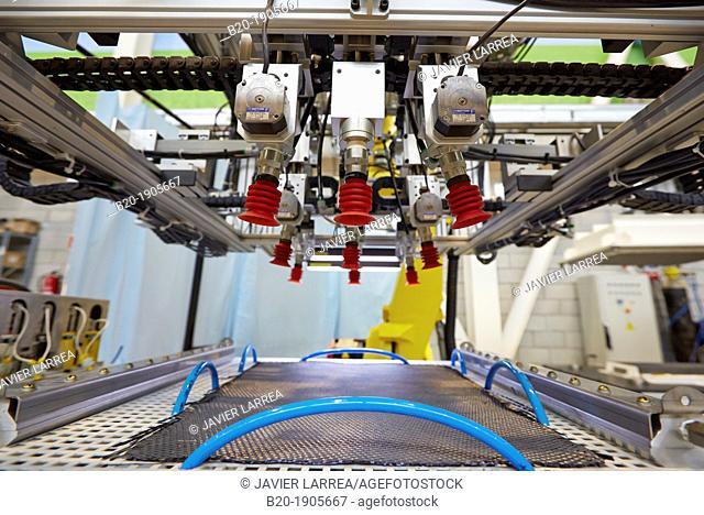 Tecnacomp  Robotic cell manufacturing composite preforms  Dry fiber preform manufacturing 3D  Industry, Tecnalia Research & innovation