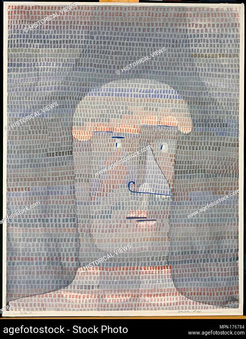 Athlete's Head. Artist: Paul Klee (German (born Switzerland), Münchenbuchsee 1879-1940 Muralto-Locarno); Date: 1932; Medium: Watercolor, gouache