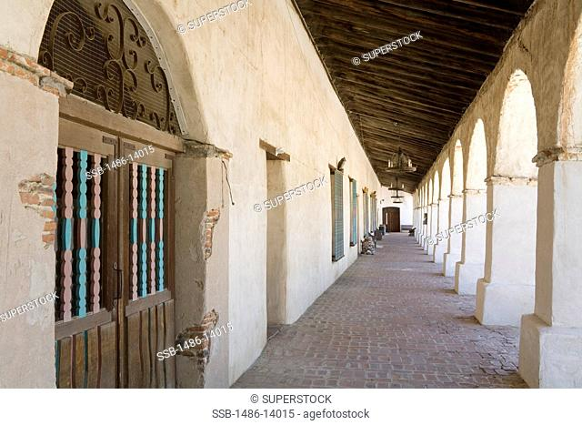 USA, California, San Luis Obispo County, Paso Robles, Mission San Miguel Archangel