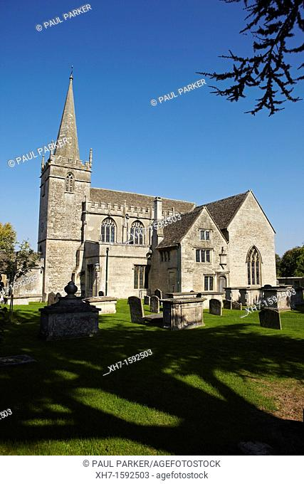 Saint Cyriac's Church, Lacock, Wiltshire, England, UK