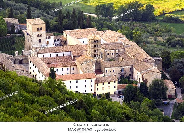 europe, italy, lazio, sabina, abbey