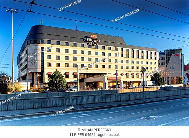 Hotel Crowne Plaza, Bratislava, Slovakia