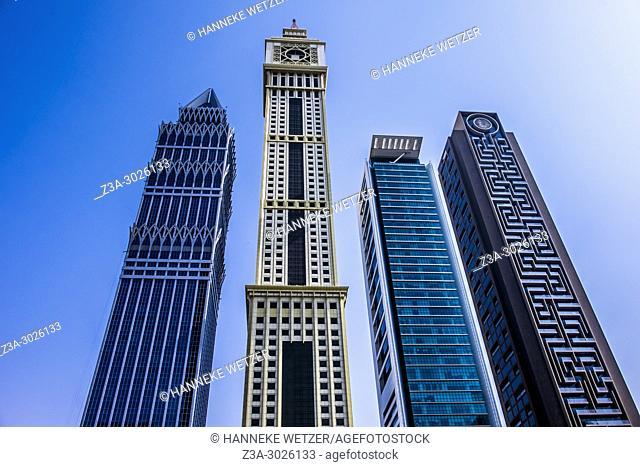 World Trade Center Complex in Dubai, UAE